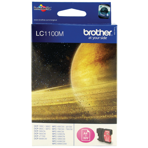 Brother LC1100M Magenta Inkjet Cartridge