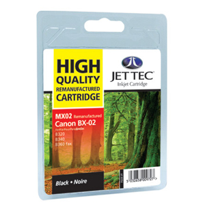 Canon 0882A002AA (BX2) Black Ink Cartridge - Remanufactured