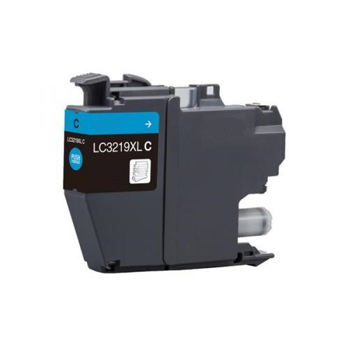 Remanufactured Brother LC3219XL-C Cyan Inkjet Cartridge