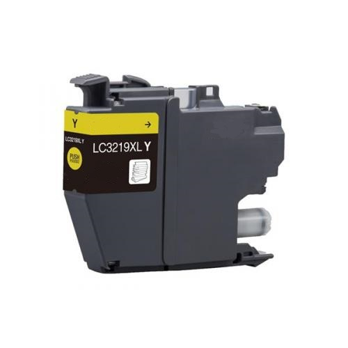 Remanufactured Brother LC3219XL-Y Yellow Inkjet Cartridge