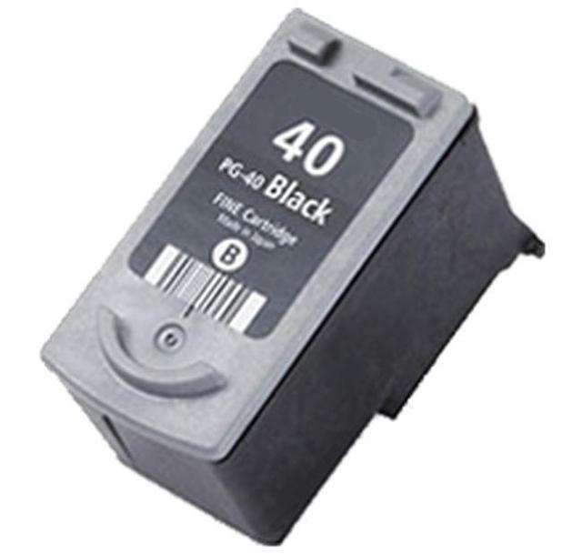 Canon 0615B001AA (PG40) Black Ink Cartridge - Remanufactured