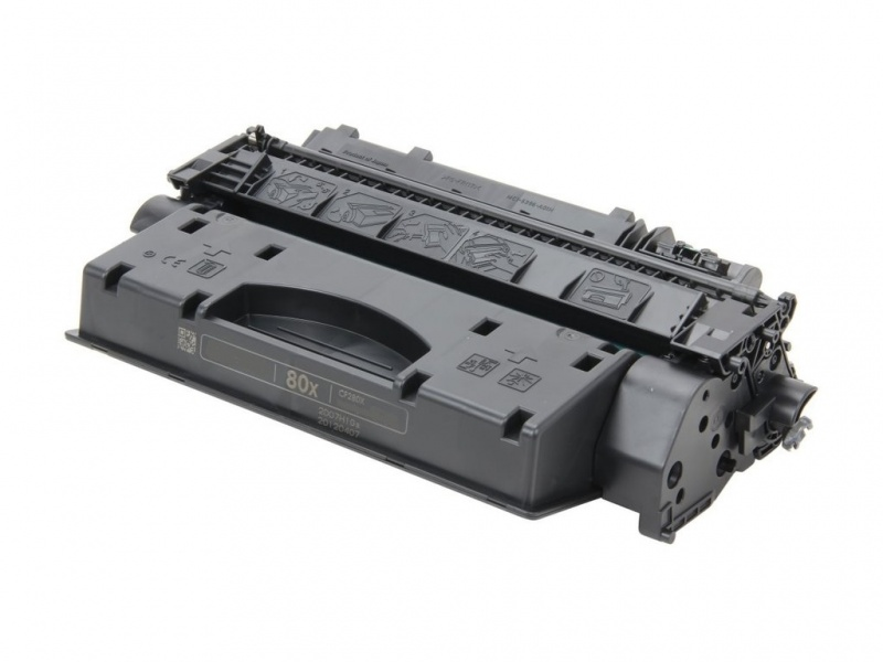 HP 80X (CF280X) Black Toner Cartridge - Remanufactured