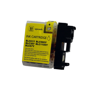 Brother LC1100Y Yellow Ink Cartridge - Compatible
