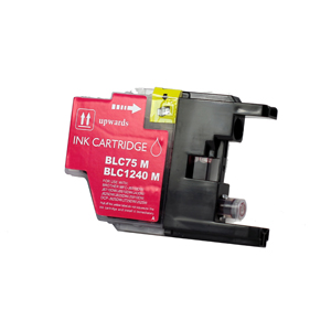 Brother LC1240M (LC1240) Magenta Inkjet Cartridge - Compatible