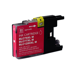 Brother LC1280XL-M (LC1280XL) Magenta Inkjet Cartridge - Compatible