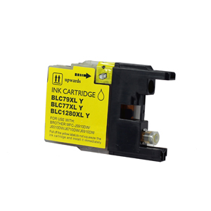 Brother LC1280XL-Y (LC1280XL) Yellow Inkjet Cartridge - Compatible
