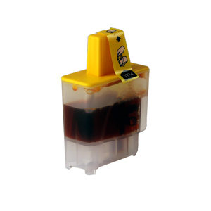 Brother (LC900Y) Yellow Ink Cartridge - Compatible