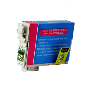 Epson C13T07134010 (T0713) Magenta Ink Cartridge - Remanufactured