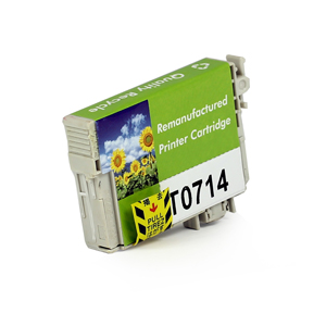 Epson C13T07144010 (T0714) Yellow Ink Cartridge - Remanufactured