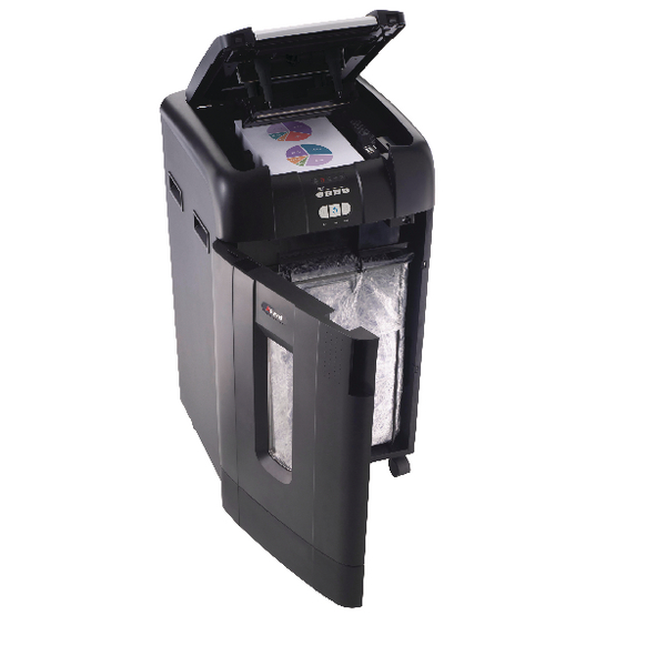 Rexel Auto+ 750X Cross Cut Shredder Black 2103750 Claim Cashback