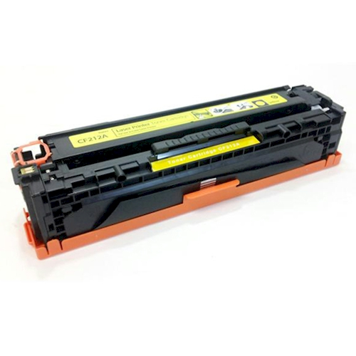 HP CF212A (131A) Yellow Toner Cartridge - Remanufactured