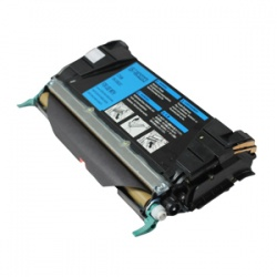 Lexmark 00C5222CS Toner Cartridge Cyan - Remanufactured