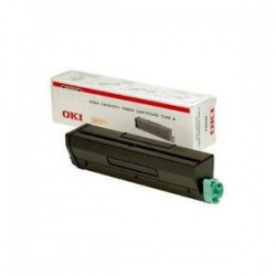 Oki 01101202 Toner Cartridge Black B4300 / B4350 6k - Remanufactured