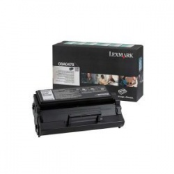 Lexmark 08A0478 Toner Cartridge Black - Remanufactured