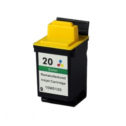 Lexmark 15M0120 (20) Colour Ink Cartridge - Remanufactured