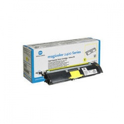 Minolta 1710589-005 Toner Cartridge Yellow - Remanufactured