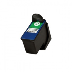 Lexmark 18C0190E (2) Colour Ink Cartridge - Remanufactured