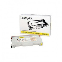 Lexmark 20K1402 Yellow Toner Cartridge - Remanufactured