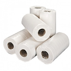 2Work White 2- Ply Hygiene Roll 250mmx40m (Pack of 18) 2W70683
