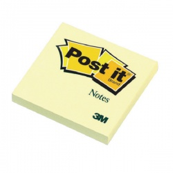 Post-it Notes 76 x 76mm Canary Yellow (Pack of 12) 654Y