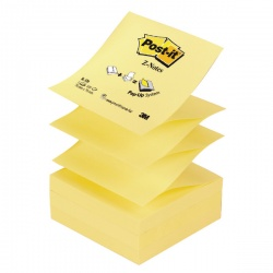 Post-it Z-Note 76 x 76mm Yellow (Pack of 12) R330