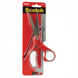 Scotch Comfort Scissors 200mm Red 1428
