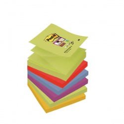 Post-it Notes Super Sticky Z-Notes 76 x 76mm Marrakesh (Pack of 6) R330-6SS-MAR-EU