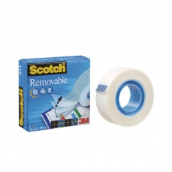 Scotch Magic Tape 19mmx33m Removable 8111933
