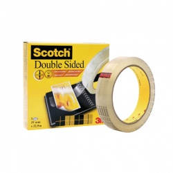 Scotch Double Sided Tape 19mmx33m 6651933