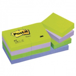 Post-it Notes 38 x 51mm Dream Colours (Pack of 12) 653MT
