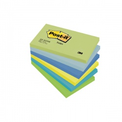 Post-it Notes 76 x 127mm Dream Colours (Pack of 6) 655MT