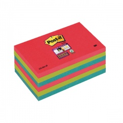 Post-it notes Super Sticky 76 x 127mm Bora Bora (Pack of 6) 70-0051-9805-9