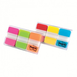 Post-it Red/Yellow/Blue Strong Index Full Colour 686-RYB