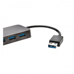 UH4000 USB 3.0 4-Port Hub Black K33978WW