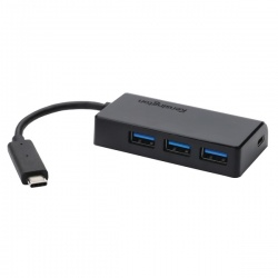 CH1000 USB-C 4 Port Hub Black K33995WW