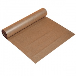 Polythene Coated Kraft Paper Roll 900mm x 100m Brown 70080