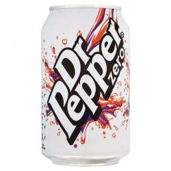 Dr Pepper Zero 330ml Cans (Pack of 24) 0402053