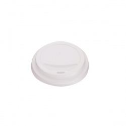 25cl White Lids for Rippled Hot Cup (Pack of 1000) HHLIDS8