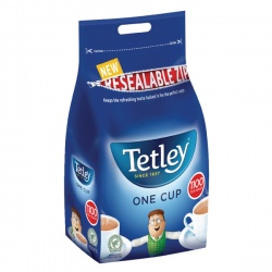 Tetley One Cup Tea Bags Catering Pack (Pack of 1100) 1018K
