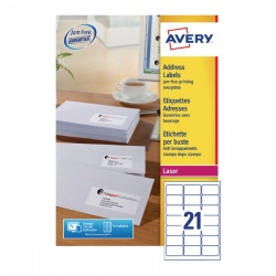 Avery QuickPEEL Laser Address Labels (Pack of 5250) L7160-250