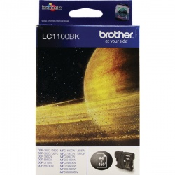 Brother LC1100BK Black Inkjet Cartridge LC-1100BK