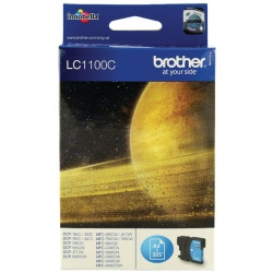 Brother LC1100C Cyan Inkjet Cartridge LC-1100C