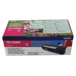 Brother Magenta Super High Yield Laser Toner TN328M
