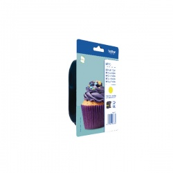 Brother Yellow Ink Cartridge LC123Y