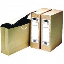 Bankers Box Buff Economy Storage File (Pack of 25) 0011001