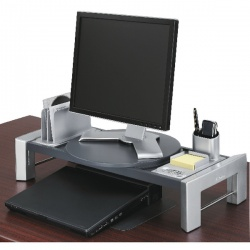 Fellowes Professional Flat Panel Workstation Black 8037401