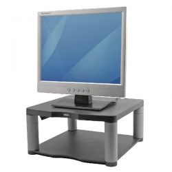 Fellowes Premium Monitor Riser Graphite 9169401 Claim a Fellowes Reward