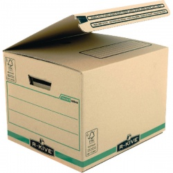 Fellowes Bankers Box Secure Ship & Store Box Brown W334 x D287 x H377mm (Pack of 10) 6204601