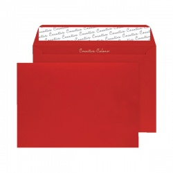 C4 Wallet Envelope Peel and Seal 120gsm Pillar Box Red (Pack of 250) BLK93024