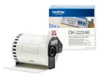 Brother DK-22246 (103mm x 30.48m) Continuous Label Roll (Black on White)